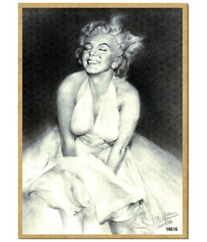 Marilyn Monroe (in dress) Magnet