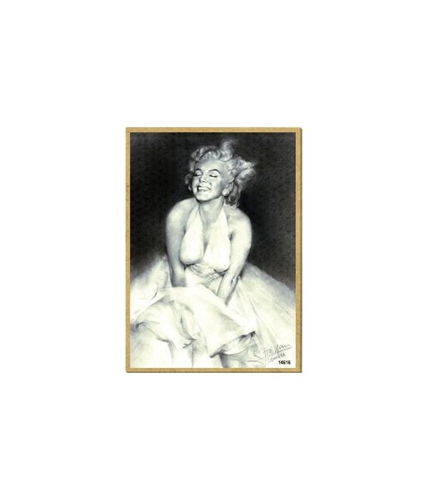 Marilyn Monroe (in dress) Magnet