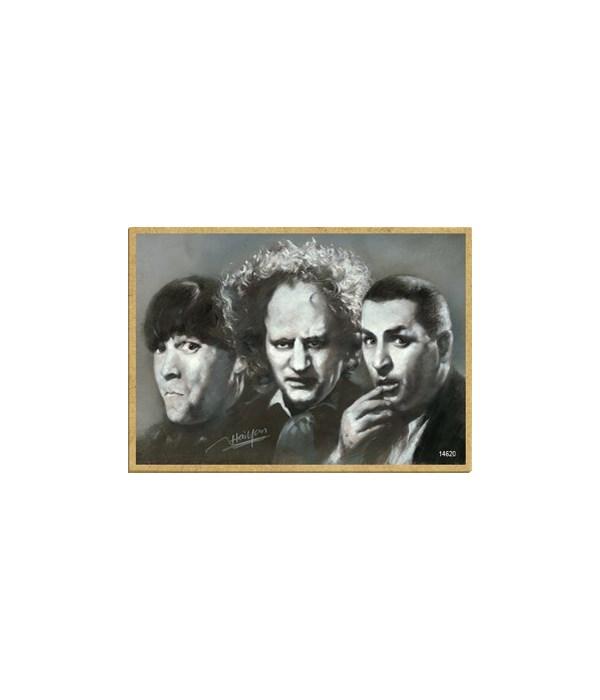 The 3 Stooges Magnet