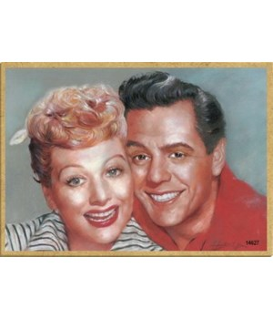 Lucille & Ricky (I Love Lucy Show) faces