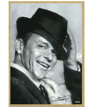 Frank Sinatra (black & white) Magnet