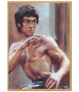 Bruce Lee Magnet