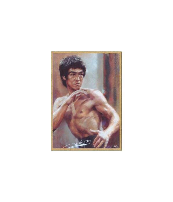 Bruce Lee Magnet