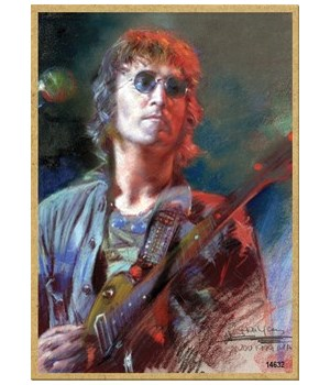 John Lennon (with guitar, full color) Ma