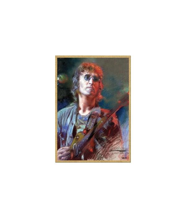 John Lennon (with guitar, full color) Ma
