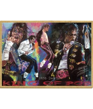 Michael Jackson collage Magnet