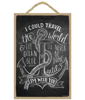 I could travel the world & the ocean 7x1