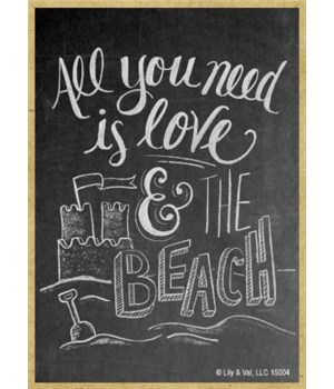 All you need is love and the beach Magne