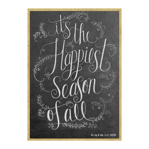 It's the happiest season of all Magnet - lil & val - Creemers