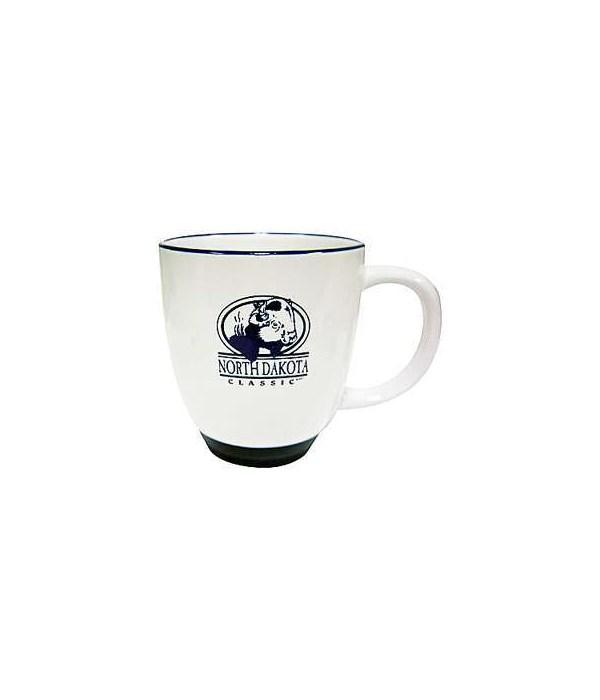 ND Mug Buffalo Blue on White