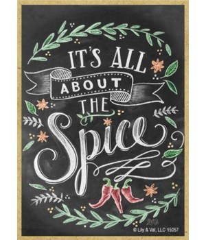 It's all about the spice Magnet