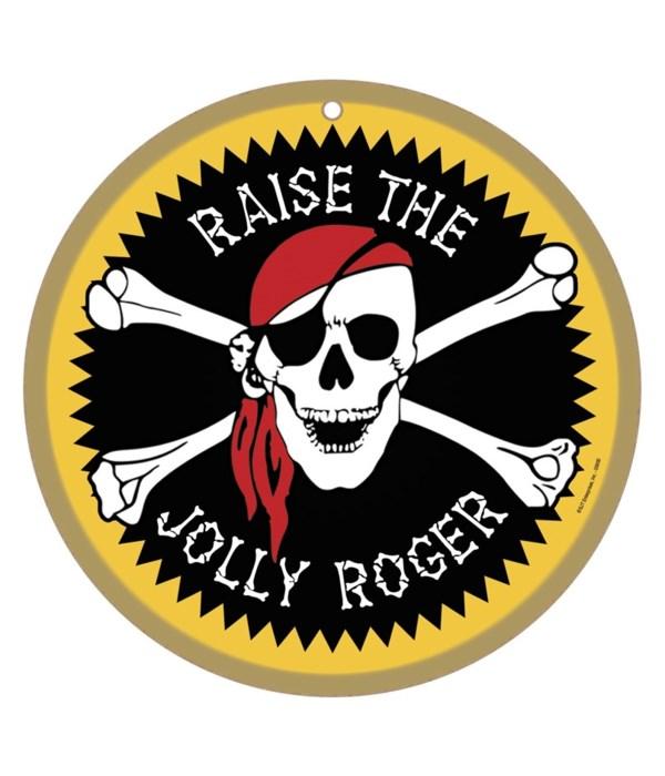 Raise the Jolly Roger 2.5x3.5 Magnet