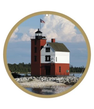 "Round Island Lighthouse 10"""