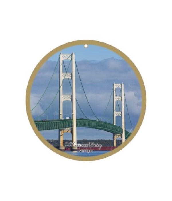"Mackinac Bridge day scene 10"""