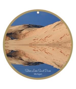 "Silver Lake Sand Dunes 10"" round"