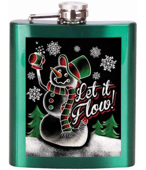 Let It Flow FLASK