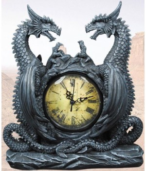 Dragon clock-11.5""