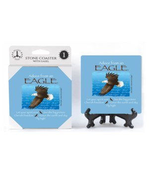 Advice from an Eagle  coaster 1-pack