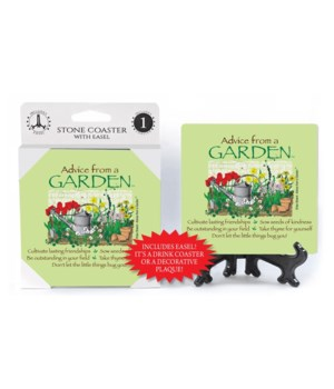 Advice from a Garden  coaster 1-pack