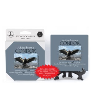 Advice from a Condor  coaster 1-pack