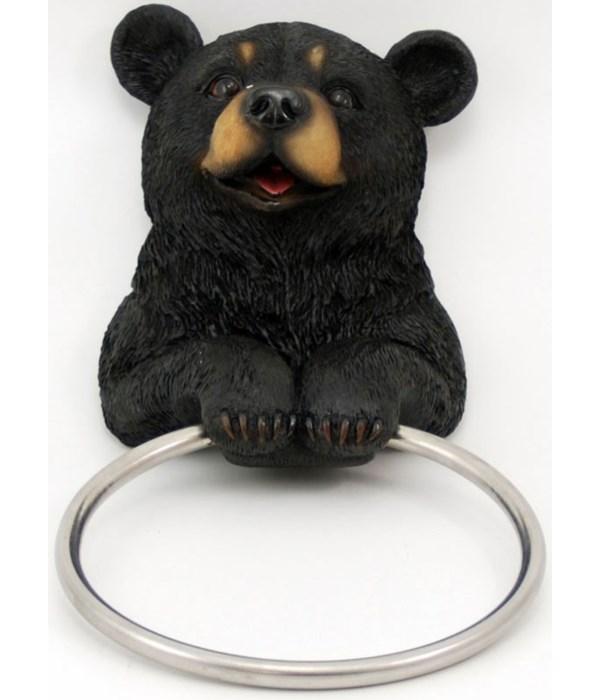 "Bear towel holder 8"""