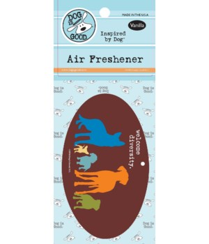 Welcome Diversity Air Freshener