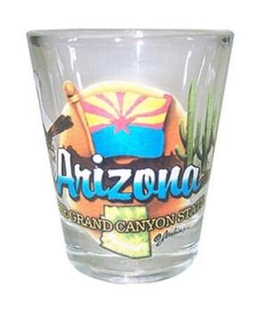 Arizona elements shotglass
