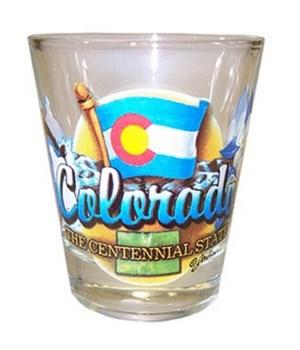 Colorado elements shotglass