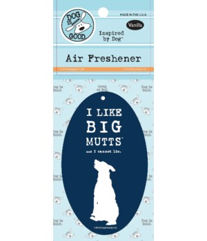 I Like Big Mutts Air Freshener