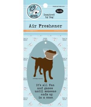 It Is All Fun Until Air Freshener