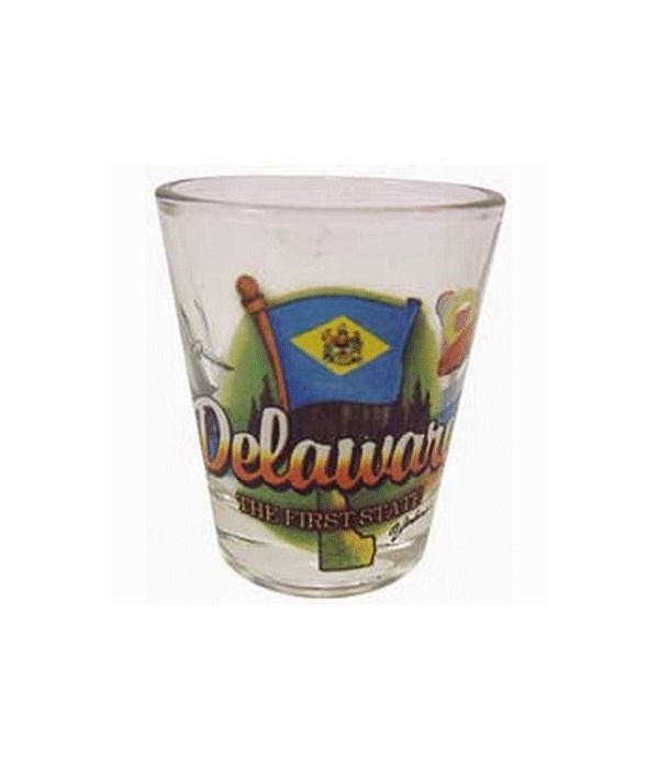 Delaware elements shotglass