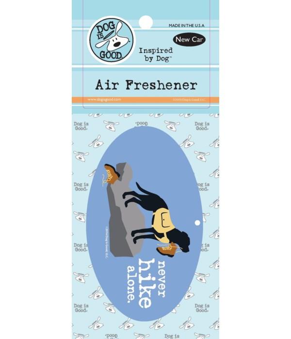 Never Hike Alone Air Freshener