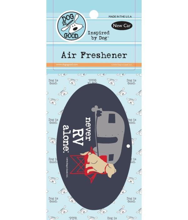 Never RV Alone Air Freshener