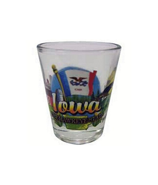 Iowa Shotglass Elements