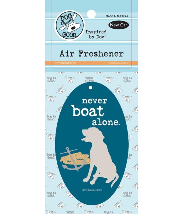 Never Boat Alone Air Freshener