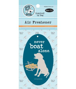 Never Boat Alone Air Freshener