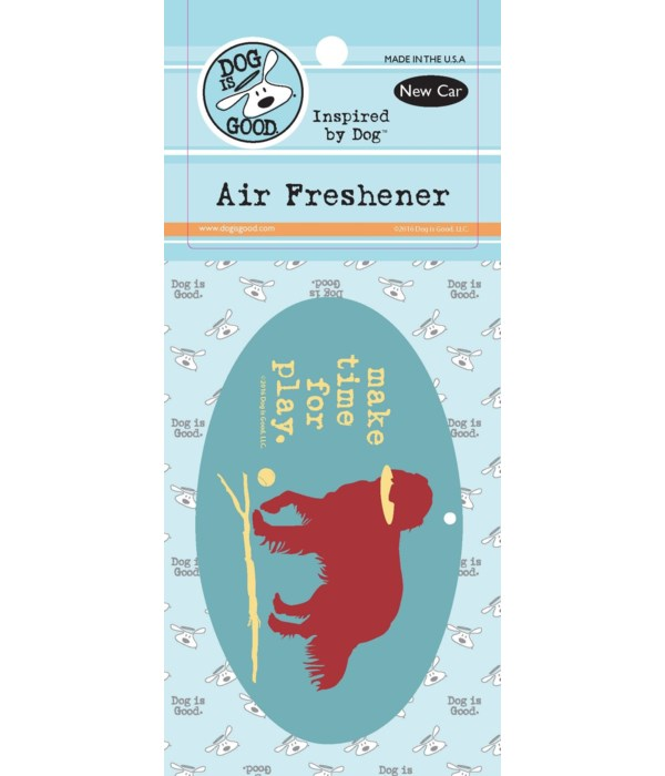 Make Time for Play Air Freshener