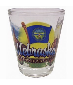 Nebraska Shotglass Elements