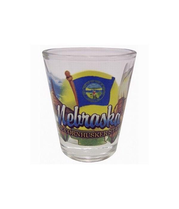 Nebraska Shotglass Elements