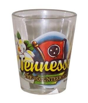 Tennessee elements shotglass