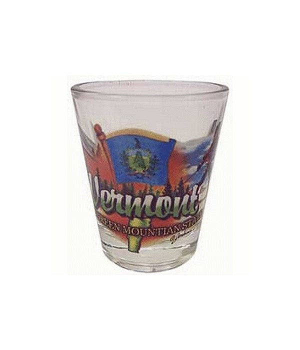 Vermont elements shotglass