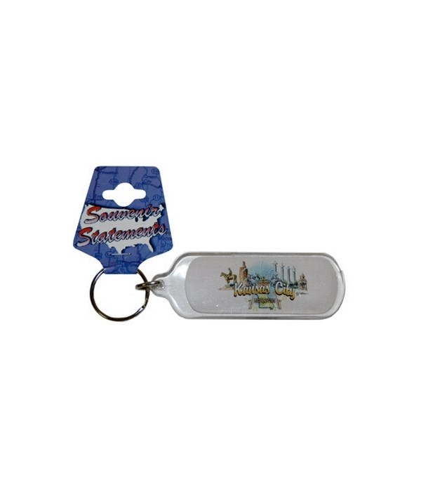 MO Keychain Lucite Elements