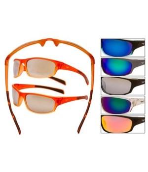 E8 Brand Plastic Sports Sunglasses