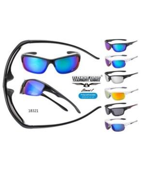 VERTX PC Plastic Sports Sunglasses