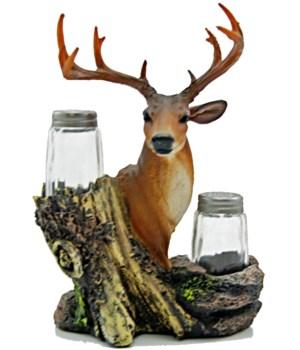 """Deer Salt & Pepper Set - 6.75"""""""