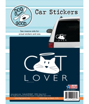 Cat Lover Car Sticker