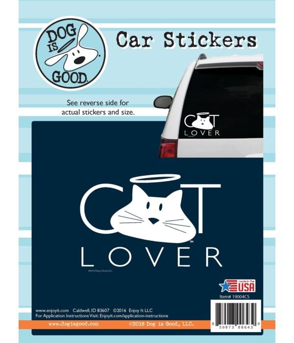 Cat Lover Car Sticker