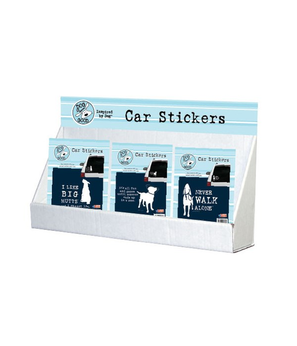 Dog is Good-Favorite Pet Stickers-Large Counter Display