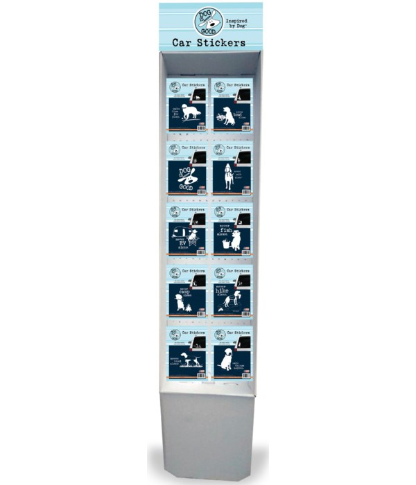 Dog is Good-Favorite Pet Stickers-Small Counter Display
