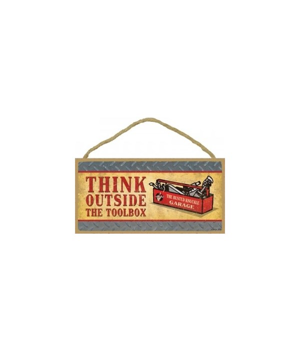 Think Outside The Toolbox 5x10